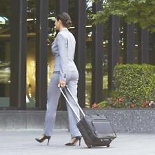 "High Quality 16"" Wheeled Laptop Business Flight Pilot Bag Cabin Case Briefcase"