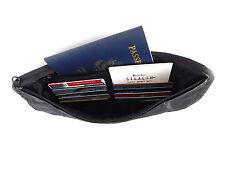 STEALTH Money Belt RFID Blocking Travel Wallet Passport Holder Hidden Waist Pack