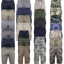 New Mens Crosshatch Shorts Chino Cargo Stretch - All Crosshatch Latest Shorts