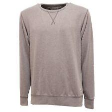 5363Q felpa uomo JACK & JONES VINTAGE CLOTHING grigio grey sweatshirt men