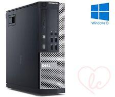 DELL OPTIPLEX SFF, upto i7, 16GB RAM & 2TB HDD 120GB SSD WINDOWS 10 DESKTOP PC