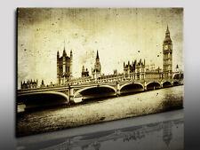London, Fotoleinwand24, Kunstdruck, Wandbild, Bild, Leinwandbild N1568