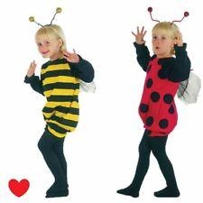 LADYBIRD Bumble Bee Ragazze Costume per bambini libro settimana LADYBUG Età 2 3