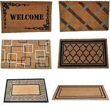 Item 3 Natural Coir Non Slip Floor Entrance 45 X 75cm Door Mat Indoor  Outdoor Doormat  Natural Coir Non Slip Floor Entrance 45 X 75cm Door Mat  Indoor ...