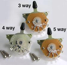 Roble grigsby Estilo 3, 4 y 5 Way Palanca Interruptor Selector De F22