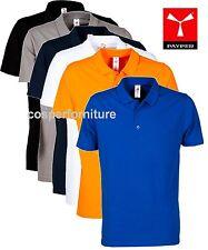 Polo uomo 100% cotone piquet manica corta - 3 bottoni - Payper Rome - maglia