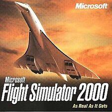 Microsoft Flight Simulator 2000 for Windows Free USA Shipping!
