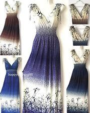 New Women Summer Sleeveless Evening Party Beach Long Maxi Sundress Dress Chic