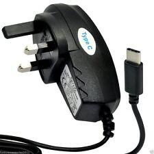 Qualità 3 Pin UK Rete Cellulare Caricabatterie ✔ Type-C connessione USB approvato CE