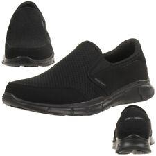 SKECHERS EQUALIZER persistente Zapatillas de hombre Mocasín Sin Cordones Negro