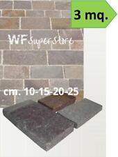 Piastrelle in Porfido - 3 mq - pavimento rivestimento mattonelle pietra giardino