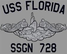 US Navy USS Florida SSGN-728 Submarine T-Shirt
