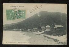 VIETNAM INDO CHINA 1905 PPC CAP ST JACQUES BEACH