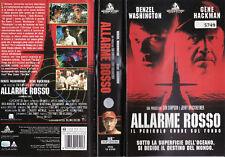 Allarme rosso (1995) VHS