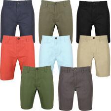 South Shore Mens Scotch Plain Cotton Twill Casual Chino Jean Shorts Size S-XXL