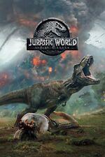 """Jurassic World;Fallen Kingdom"" Chris Pratt Classic Movie Poster 3 Various Sizes"