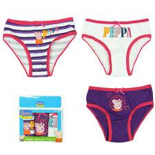 Unterwäsche Kinder Slip Schlüpfer Peppa Pig 3er Pack 92-98 104-110 116-122 #80