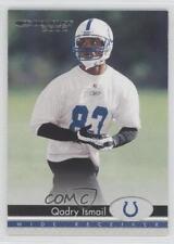 2002 Donruss Silver Sample #81 Qadry Ismail Indianapolis Colts Football Card