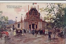 # MILANO - ESPOSIZIONE 1906 - MOSTRA ITALIANI ALL'ESTERO (N.30) P.SALA