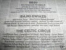 THE CELTIC CIRCLE / DESU DE SU / BAJKI GWIAZD LOT 3 CD