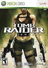 Tomb Raider: Underworld (Microsoft Xbox 360, 2008) NO DLC