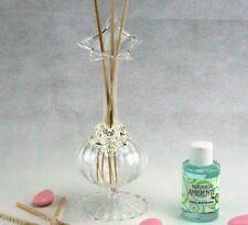 Bomboniere profumatori con fiore stile Swarovski comunione cresima compleanno