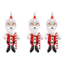 1 x oder 2 x Weihnachtsmann aufblasbar Santa Claus 0.67 m Dekoration Weihnachten