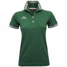 KAPPA POLO Tennis Maglia DONNA LOGO MALTAX WSS SLIM verde ROSA Grigio New 928eis