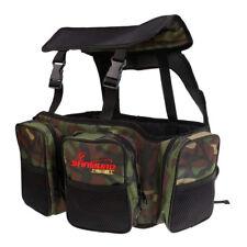 Fishing Seat Box Carrier Bag Rucksack Backpack Shoulder Pack Sea Fishing Tackle