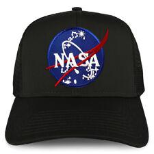 XXL Oversize NASA Insignia Logo Patch Mesh Back Trucker Baseball Cap - FREE SHIP