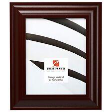 Craig Frames Contemporary Upscale, Dark Mahogany Red Picture Frame