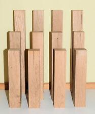 Eiche 4 Säulen Podeste Stelen Tischbeine Dekosäulen Dekobretter Garten rustikal