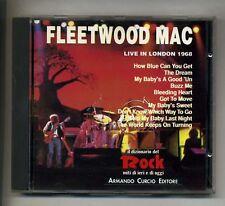 FLEETWOOD MAC # LIVE IN LONDON 1968 # Curcio # CD Rock