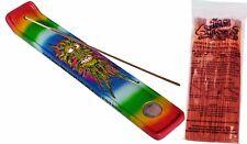 Hemp Leaf Man, Stick Incense Burner + 100-pcs Incense U-Choose Fragrance Scent