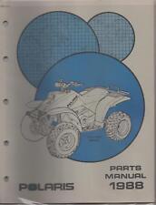 1988 POLARIS ATV TRAIL BOSS W888528  PARTS MANUAL