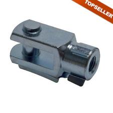Gabelkopf mit Bolzen IG für ISO-Kompaktzylinder, Zylinder, Gabelkopf, Stahl zn.