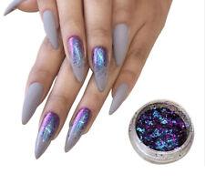 (500,00€/100g) Chameleon Flakes Effekt Pigment Nail Glitter Chrom Chamäleon #N12
