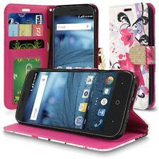 ZTE Tempo X case ZTE Avid 4 case Flip Wallet Credit Card case