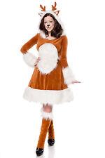 Rehkitz Kostüm Damenkostüm Reh Tierkostüm Fasching Karneval Tiere Mottoparty