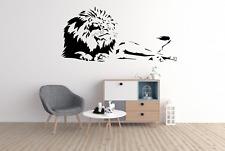 Lion animal chat roi de la jungle Wall Art Autocollant Décalque Décoration Maison A38
