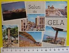 cartolina Sicilia - Gela vari scorci - CL C454