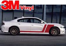 Dodge Charger 2011 to 2019 3M Vinyl Graphics Hockey Stripe Decal Hemi 3M Vinyl
