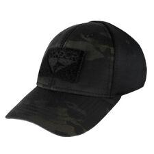 Condor 161080-021 Flex Tactical Flex Military Combat Hunting Cap -Black MultiCam