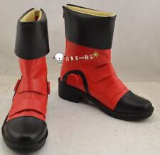 New! Yu-Gi-Oh GX Jaden Yuki Cos Boots Cosplay Shoes custom made HH.089