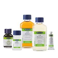 verschiedene Hilfsmittel 60ml für die Ölmalerei (100ml=18,25€)