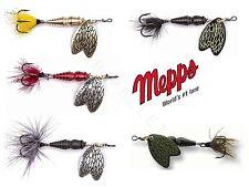 Mepps Thunder Bug Spinner Insektenspinner verschiedene Farben und Größen