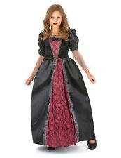 Déguisement vampire rouge et noir fille Cod.221886
