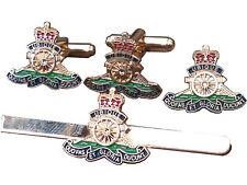 Royal Artillery Cufflinks, Tie Clip, Lapel Badge, Set or Individual