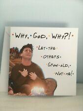 Handmade Funny Personalised Friends TV Show - Joey Birthday Card