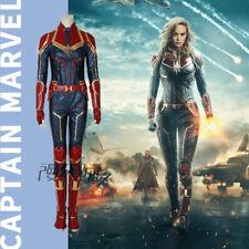 Captain Marvel Carol Danvers Film Cosplay Kostüm Costume Full Set Outfit